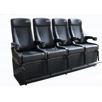 China Experience 4D Movie Theater With Hydraulic System For Theme Park wholesale