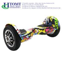 China Flexible 2 Wheeled Electric Skateboard Smart Self Balancing Scooter 12 KM\H with Chic License wholesale