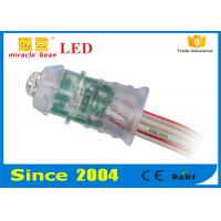 China 12mm rgb full color pixel light led F8 string CE ROHS certs advertising sign wholesale