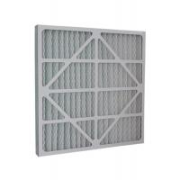 China G4 Pleats Type Cardboard Frame Primary Air Filter For Air Conditioning System wholesale