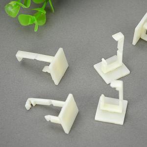China Selle blanche de corde de PA de forme d'agrafes de baisse de câble de la gestion gentille CC935 de carte wholesale