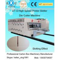 China High Speed Printing Slotting Die-Cutter Auto Carton Packing Machine 6mm Thickness wholesale