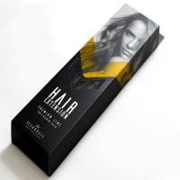China Foldable Custom Hair Extension Boxes , OEM Service Luxy Hair Packaging wholesale
