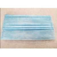 China One Time Disposable 3ply Civilian Non Woven Fabric Earloop Mask on sale