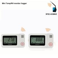 Buy cheap RFID 433Mhz wireless temperature humidity data logger monitoring system sensor from wholesalers