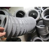 China Grey Fabric Expansion Joint Bellows , Flexible Expansion Joint Material wholesale