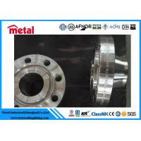 China High Strength Raised Face Weld Neck Flange , N06600 CL300 RF WN RJ SS Pipe Fittings wholesale