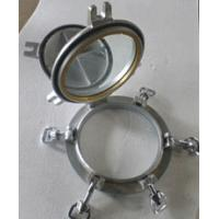 China Marine Ships Portlights With Aluminum Frame Marine Porthole Windows wholesale