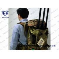 Buy cheap 90 Watt Drone Signal Jammer , Backpack Drone Jamming Device With Metal Case from wholesalers