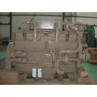 China Water Cooled 38L 12 Cylinder Mechanical Diesel Engine 4 Stroke , Marine Diesel Motor wholesale