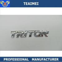 China ABS Plastic Redbeans Custom Vehicle Emblems Car Body Sticker Auto Badge Emblem Badge wholesale