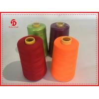 China 40/2 5000Y Spun Polyester Thread Bright Color High Tenacity / Coats Polyester Thread wholesale