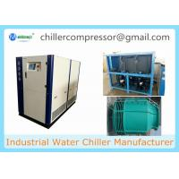 China 25HP Water Cooled Scroll Chiller for Plastic Injection Machine with Cooling Tower wholesale