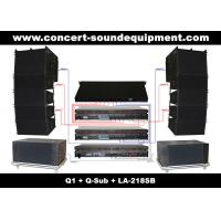 China 480W Full Range Line Array Speaker With 1.4+2x10 Neodymium Drivers For Concert And Installation wholesale