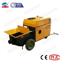 China Grouting Pipe ID 80mm 10Mpa 6m3/H Concrete Mixer Pump wholesale