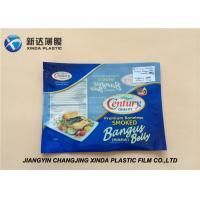China Oxygen Resistant 3 Side Heat Seal Plastic Bags for Sea Food Packaging CE / ROHS on sale