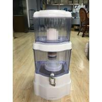 ABS , AS Material Drinking Water Pot / Plastic Water Pot Countertop Alkaline Water Filter