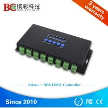Zhuhai professional ws2811 RGB ethernet to dmx SPI controller
