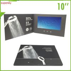 China Company intruction lcd video Brochure Custom handmade LCD Video Card wholesale