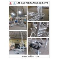 China Silver Line Array Speaker Truss , Flexible A Frame Lift Tower Truss wholesale