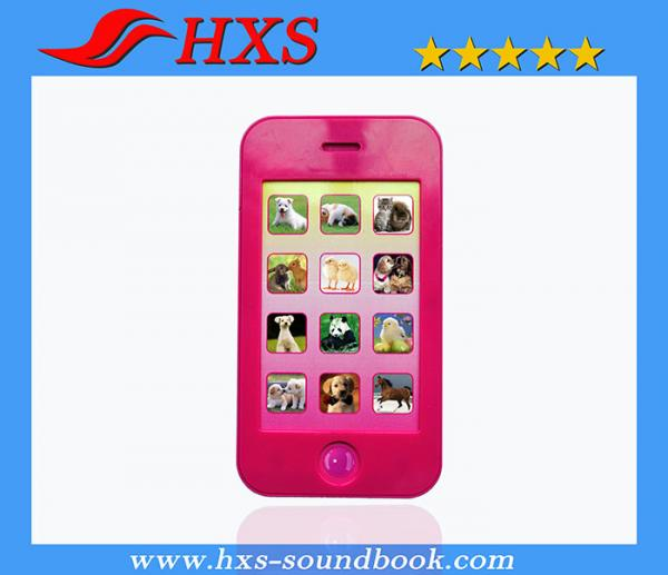 Quality Best Quality Electronic Mobile Music Toy Pre-recorded Musical Mobile Phone for sale