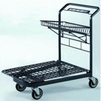 China Custom Unfolding Market Portable Shopping Cart  Heavy Duty Mesh Airline wholesale