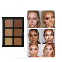 China Hot Style OEM 6 Color Waterproof Concealer With Transparent Cover on sale