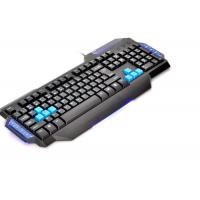 China Entry Level Comfortable Multimedia Computer Gaming Keyboard Light Up wholesale