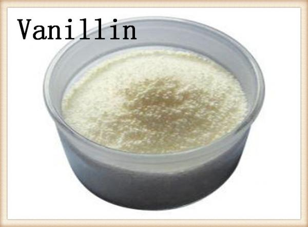 Quality Vanillin Flavoring Artificial Food Additives Aromas 121-33-5 Natural Synthetic Source for sale