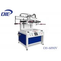 China Dual Axis Motor Driven UV Flatbed Printing Machine For Plastic Sheet on sale
