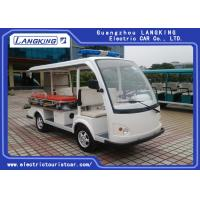 Buy cheap 48V / 3KW DC motor Electric Tourist Car with Cargo Box Max . Speed 28km/h from wholesalers