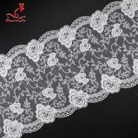 China Pollution - Free Underclothes Embroidered Lace Trim For Sensitive Skin wholesale