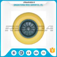 China Various Color PU Foam Wheel Roller Bearing Super Elasticity For Air Compressor wholesale
