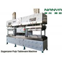 China Semi - Automatic Stainless Steel Pulp Molding Equipment For Plates / Bowls / Cups wholesale