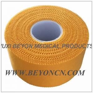 China Лента атлетических спортов желтого цвета зигзага Breathable для предохранения от тренера wholesale