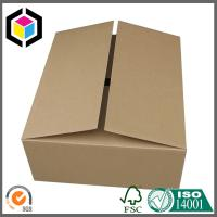 China Plain Brown No Printing Double Wall Corrugated Box; Single Wall Packaging Box on sale