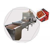 China 80KW Tunnel Microwave Vacuum Drying Equipment wholesale