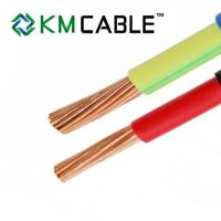 China single core solid or stranded copper cable and wire 1mm 1.5mm 2.5mm PVC insulated electric wire h05v-k H07V-K wholesale