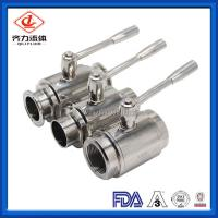 China Mini Full Bore Ball Valve Pneumatically Actuated  Beverage Industries Use wholesale