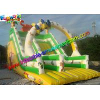China Colorfully Tiger Commercial Inflatable Slide Dry Slide Slip With PVC Vinyl on sale