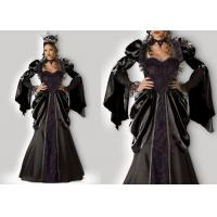 China Wicked Queen 1056 Female Halloween Costumes , New Queen Elsa Dress Adult Princess Costume wholesale