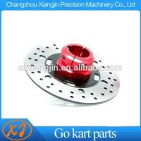 China High Quality CNC Billet Aluminum Go Kart  Disc Carrier With 8mm Keyway wholesale