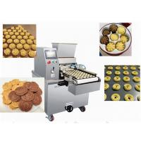 China Energy Saving Cookie Dough Machine Biscuit Depositing Line Extruder wholesale