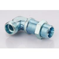 China Bulkhead Elbow Male Din Hydraulic Fittings Din 2353 Passivation Surface Treatment wholesale