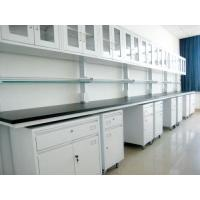 China Modular Medical Lab Table Dental Laboratory Furniture With Wall Hanging Cabinet wholesale