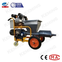 China Mortar Spraying Wall Plastering Equipment Screw Type For Slurry Circulation wholesale
