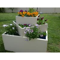 China garden planting potmetal planter/galvanized steel garden bed/Metal/Tin/Box/Square/Flower P wholesale