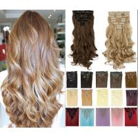 China High Temperature Synthetic Hair Extensions Long Body Wave No Tangling And No Shedding wholesale