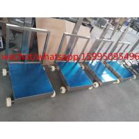 Buy cheap Movable Bench Weighing Scale With Wheels / Back Rail 60 X 80cm 500kg ROHS from wholesalers