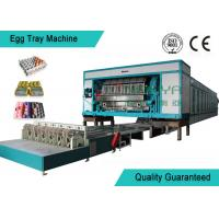 China Fully Automatic Rotary Cup-Holder / Egg Trays Forming Machinery With Siemens wholesale
